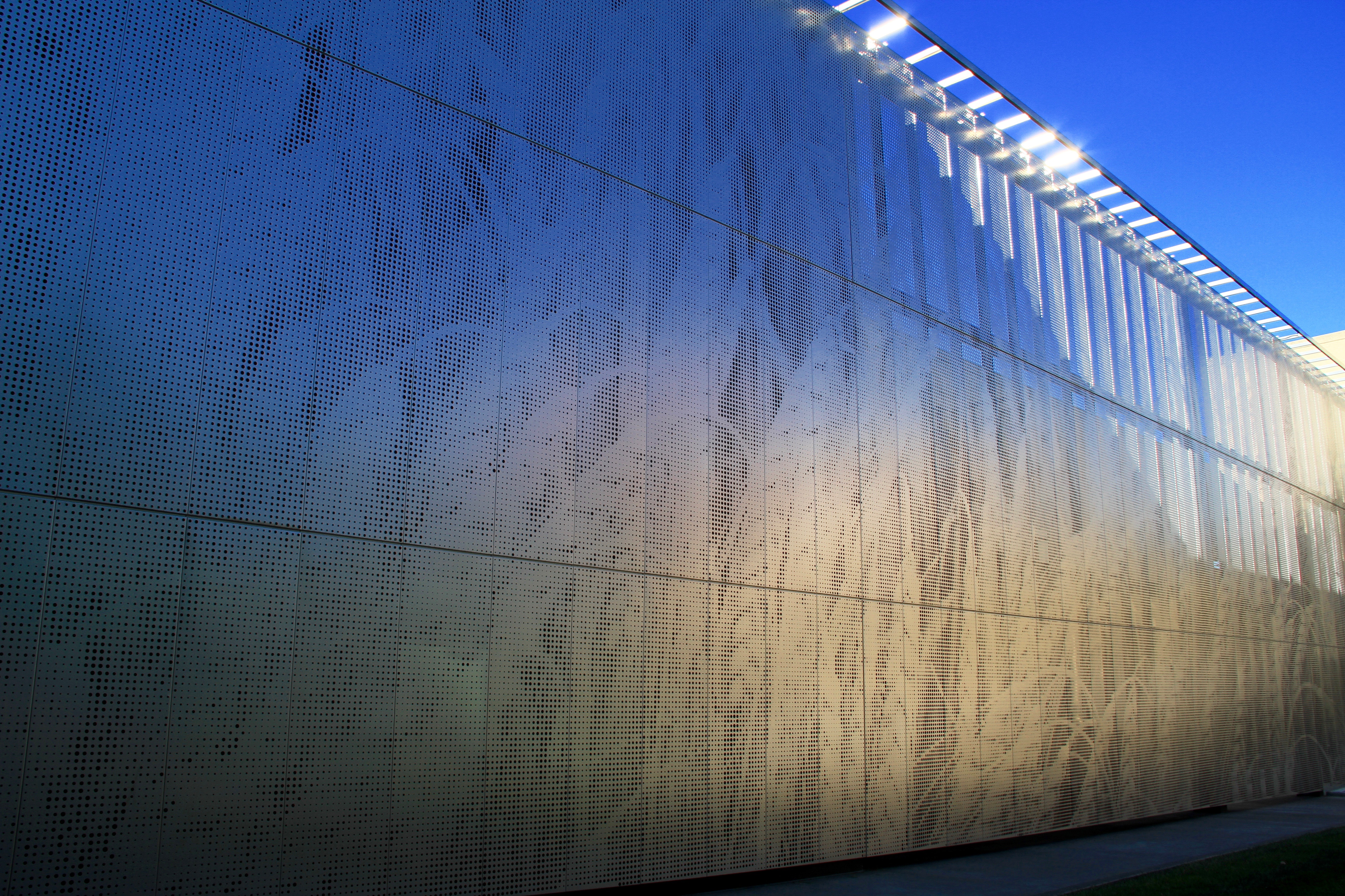 Photo of the Waving the Wheat Wall at the DeBruce Center.