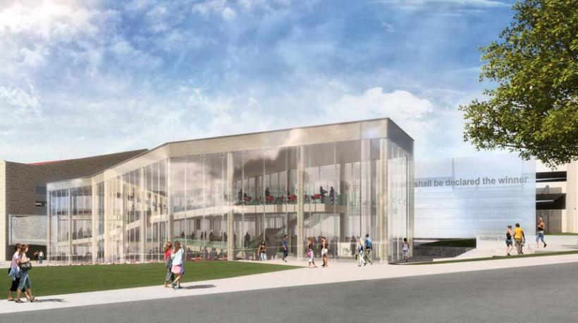 DeBruce Center rendering 2